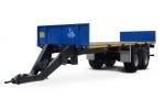 Прицеп для перевозки  овощных контейнеров  и цилиндрических  тюков сена (соломы) Тонар-ПТ7